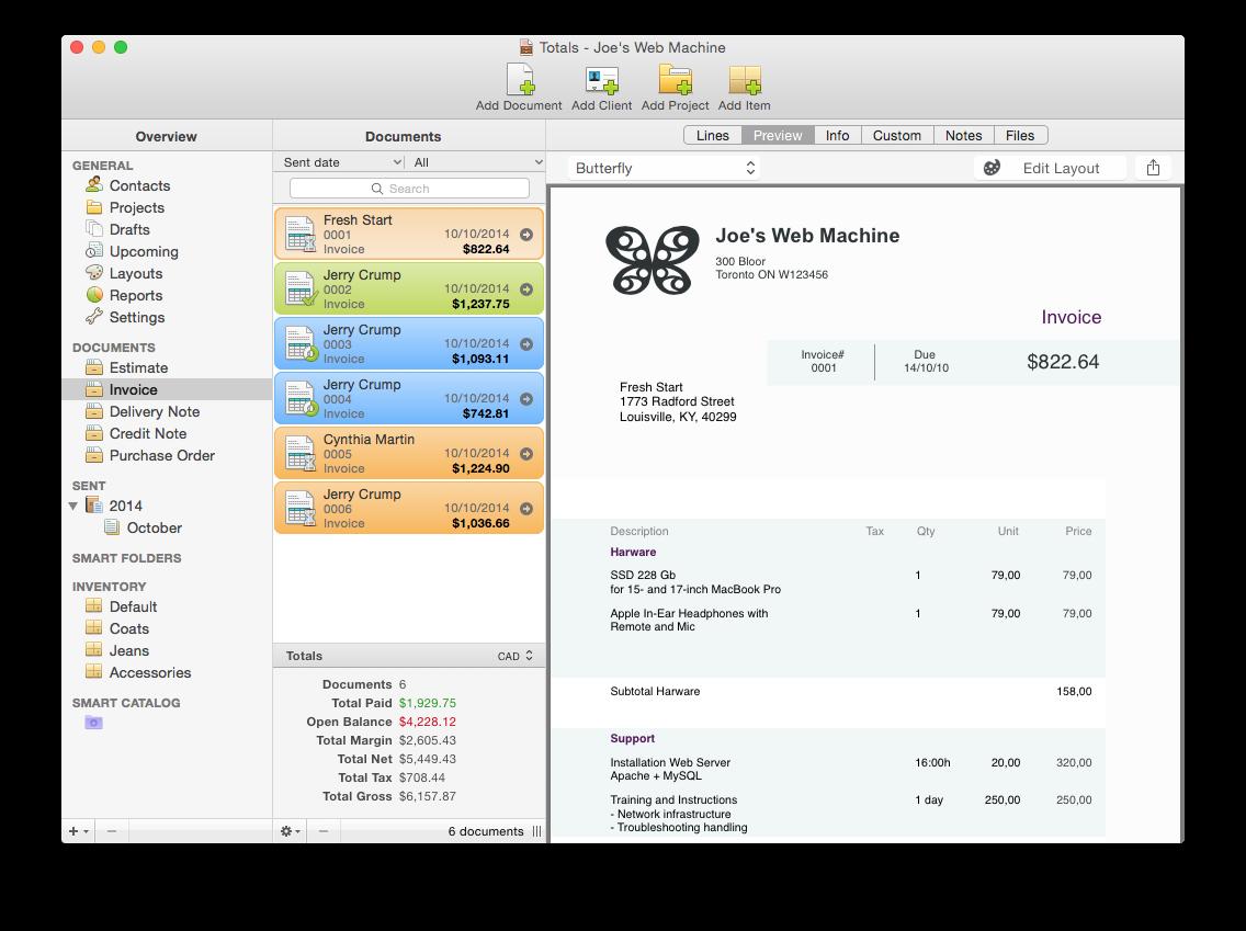 Totals 3 Mac iPad iPhone
