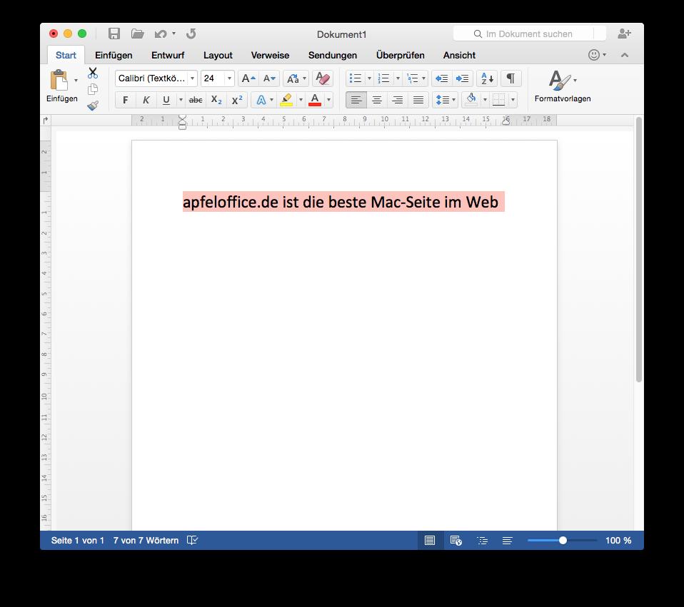 Word 2016 – Ein erster Blick auf die neue Version aus dem kommenden ...