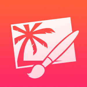 Pixelmator App Icon iOS. Quelle: Pixelmator Team via App Store (Apple)