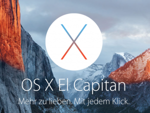OS X El Capitan, Screenshot Quelle: Apple.de