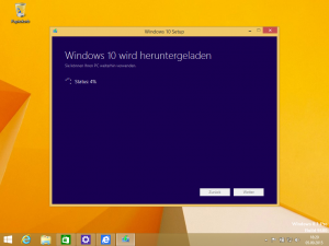 Windows 10 Download – Windows 8.1 auf dem Mac auf Windows 10 aktualisieren.